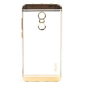 Ốp lưng dành cho Xiaomi Redmi Note 4x ốp xi viền - Vàng