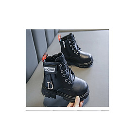 Giày Boot ( cao cổ ) cho bé gái phong cách hàn quốc - EB004D
