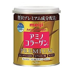 Hộp Amino Collagen Meiji Premium - Dinh Dưỡng Cho Phái Đẹp (Lon 200g)