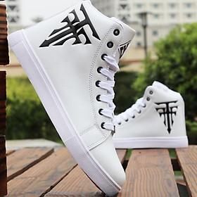 Giày sneaker cao cổ nam chữ thập