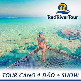 Tour Cano 4 Đảo Phú Quốc: Hòn Móng Tay - Hòn Gầm Ghì - Hòn Rỏi - Hòn Mây Rút - Rainbow Show, Bữa Trưa Trên Nhà Hàng Nổi, Chụp Hình Flycam, Khởi Hành Hàng Ngày, Đón Trung Tâm Dương Đông (Có Dịch Vụ Thêm: Lặn Bình Khí)