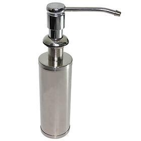 Bình xịt nước rửa chén Inox SUS 304 250ml Eurolife EL-C31 (Trắng bạc)