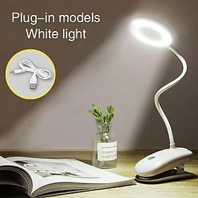 LED Desk Lamp Reading Light Portable USB Home Decor Eye-Care Flashlight