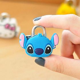 Ổ khóa mini dùng chìa hình thú mèo kitty, doremon, gấu, pan đa  - Hình Ngẫu Nhiên