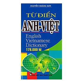 Từ Điển Anh - Việt 178.000 Từ