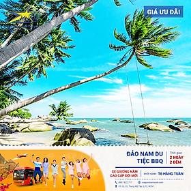 Tour Sài Gòn Đi KIÊN GIANG - ĐẢO NAM DU 2N2Đ - Lặn Ngắm San Hô - Khám Phá Thiên Nhiên Chưa Bị Tàn Phá - Tham Gia Tiệc BBQ - Check In Các Địa Điểm Nổi TIếng Trên Đảo