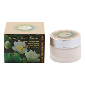 Kem Dưỡng Make Up, SPF 30, Dưỡng Da Trắng Sáng, Mịn Màng Như Lụa Herbal Care Magic Face Cream (30g)-2
