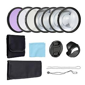 Bộ Lens Và Phụ Kiện Cho Máy Ảnh Chụp Cận Cảnh UV CPL FLD (58mm)