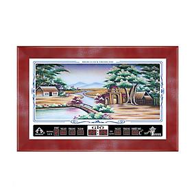 Đồng hồ lịch vạn niên Dòng Sông Yên Bình Trọng Tín 8012-3