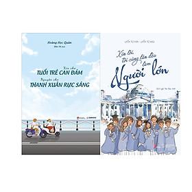 Combo 2 Cuốn Sách: Xin Cho Tuổi Trẻ Can Đảm, Nguyện Cho Thanh Xuân Rực Sáng + Xin Lỗi, Tôi Cũng Lần Đầu Làm Người Lớn