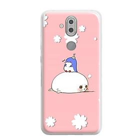Ốp lưng dẻo cho Nokia 8.1 ( Nokia X7 2018) - 0375 COUPLE07 - Hàng Chính Hãng