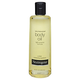 Neutrogena Body Oil Light Sesame 250mL