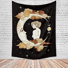 Thảm Treo Tường Tranh Vải Thảm Tapestry Chủ Đề Tâm Linh