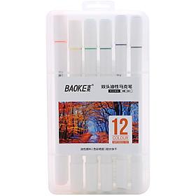 Bút Lông Tô Màu 2 Đầu Baoke MP2923