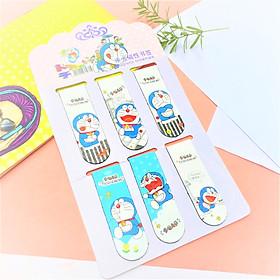 Combo 6 Bookmark Nam Châm Magnet ( Đánh Dấu Sách ) Truyện Doraemon (Doremon)