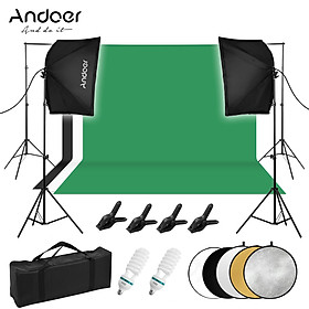 Bộ dụng cụ tạo ánh sáng chụp ảnh studio chuyên nghiệp Andoer '
