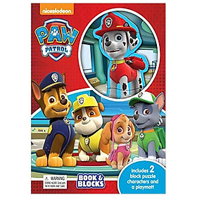 Paw Patrol Book & Blocks