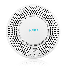 Hình đại diện sản phẩm KERUI SD05 433MHz Wireless Photoelectric Smoke Alarm High Sensitive Wireless Alarm System Security Smoke Detector Fire Protection Sensor For Home Kitchen/Store/Hotel/Factory - White