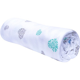 Mền 2 lớp vải tre sợi kép cho bé 125×125 Premium Mamaru MA-MEN2L – Diệt khuẩn, hút ẩm tốt, kháng tia UV