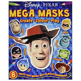 Disney Pixar - Mixed: Mega Masks (Press-out Masks Disney)