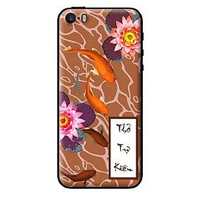 Ốp in cho iPhone 5s Cá Koi Thổ - Hàng chính hãng
