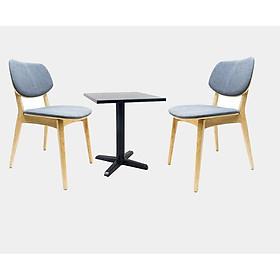 Bộ bàn vuông 2 ghế PLC
