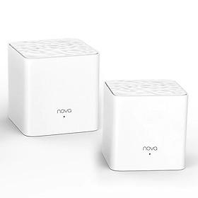 Bộ 2 Thiết Bị Router Wifi Tenda NOVA MW3 - Hàng Chính Hãng
