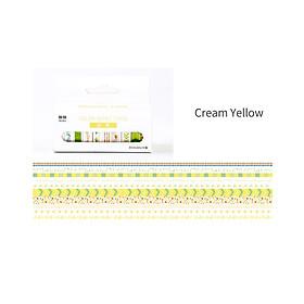 Bộ 10 cuộn băng dán giấy Nhật Bản chủ đề Freash kích thước 8mm 3 mét