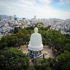 Tour city Nha Trang Nhà Thờ Đá - Chùa Long Sơn - Nhà Yến - Tháp Bà - Tắm Bùn 1 Ngày