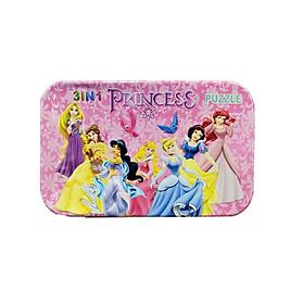 Đồ Chơi - Ghép Hình 3 in 1 - Princess ( 60 mảnh ghép)