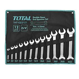 Bộ 12 cờ lê hai miệng 6-32mm  Total THT1023121