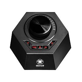 Sound Card DAC 7.1 gắn cổng USB Plextone Quake GS5 tương thích với cả máy tính và Laptop chơi Game, DAC Gaming giả lập âm thành vòm 7.1 giải mã tín hiệu âm thanh chất lượng cao 24bit 96KHz HiFi dành cho game thủ chuyên nghiệp support Plug and Play.- Hàng Chính Hãng.