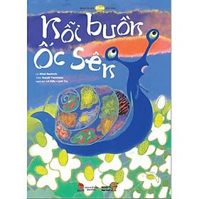 Nỗi buồn ốc sên - Tranh truyện Ehon cho trẻ từ 3-6 tuổi.