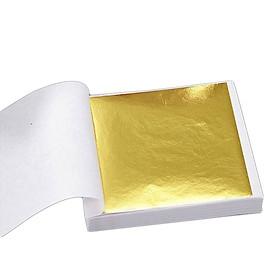 Miếng Giấy Dán Mạ Vàng (100 Tờ)