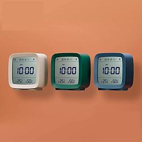 Đồng hồ báo thức thông minh bluetooth Xiaomi Youpin, kiểm soát độ ẩm và nhiệt độ, màn hình LCD