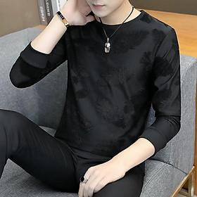 Áo dài tay cao cấp với họa tiết đặc biệt