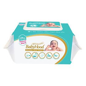 Khăn Khô BabyHood (120 Tờ)