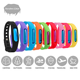 Mosquito Repellent Pest Control Bracelets Natural Bug Insect Protection Waterproof DEET Free Wristband for Kids & Adults