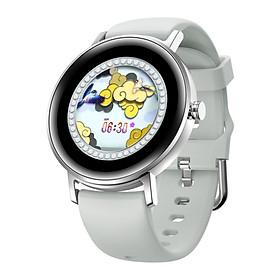 Đồng Hồ Thông Minh Nữ AMA Watch S27 Thời trang Kết nối Bluetooth Theo dõi Sức khỏe Vận động Màn hình tròn Hàng chính hãng