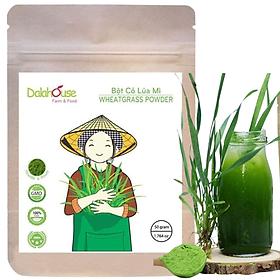 Bột cỏ lúa mì cung cấp dinh dưỡng nguyên chất 50g
