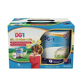 Combo 2 lon Sữa dê công thức DG-1 Goat Milk Infant Formula