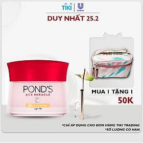 Kem Ngăn Ngừa Lão Hóa Pond's Age Miracle Ban Ngày SPF 18 PA++ (50g)