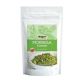 Bột rau chùm ngây hữu cơ Dragon Supperfoods  200gr Moringa powder Dragon Supperfoods  200gr