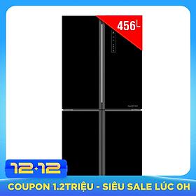 Tủ Lạnh Inverter Aqua AQR-IG525AM-GB (456L) – Đen - Hàng chính hãng