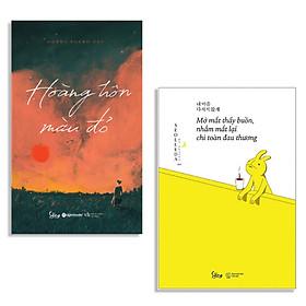 Combo Sách : Hoàng Hôn Màu Đỏ + Mở Mắt Thấy Buồn, Nhắm Mắt Lại Chỉ Toàn Đau Thương