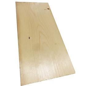 Tấm gỗ thông mặt lớn rộng 23cm, dài 50cm, dày 2cm dùng làm mặt bàn, mặt ghế, kệ ốp tường...
