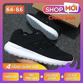 Giày Thể Thao Sneaker Nam Nữ (Đen Sọc Đen)