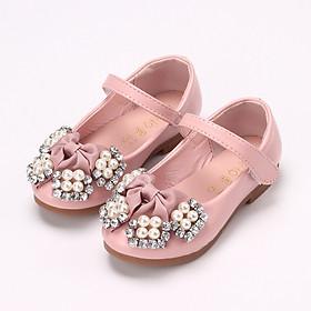 Giày búp bê xinh xắn cho bé gái 1 - 5 tuổi kiểu dán tiện dụng GE21