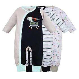 Set 3 body dài cho bé, quần áo cho bé sơ sinh