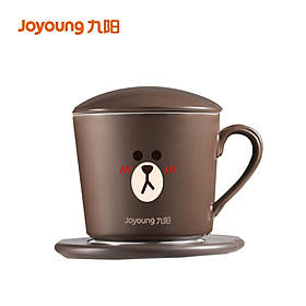 Joyoung LINE heating and warming coaster set TEATea813-A3 55℃ constant temperature mini portable three colors optional (warming coaster*1+cup*1+spoon*1+power cord*1)